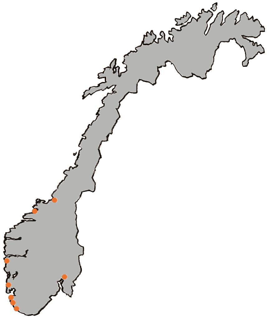 Naboen kart over våre lokasjoner