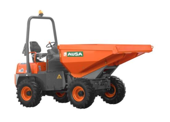 Dumper AUSA D400 AHG en location - 4 tonnes