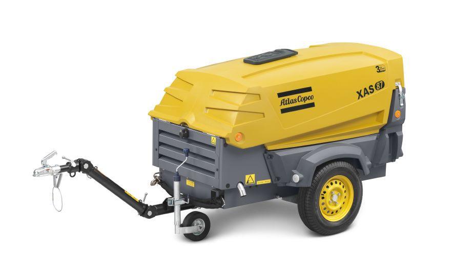 Transportabel kompressor XAS 87