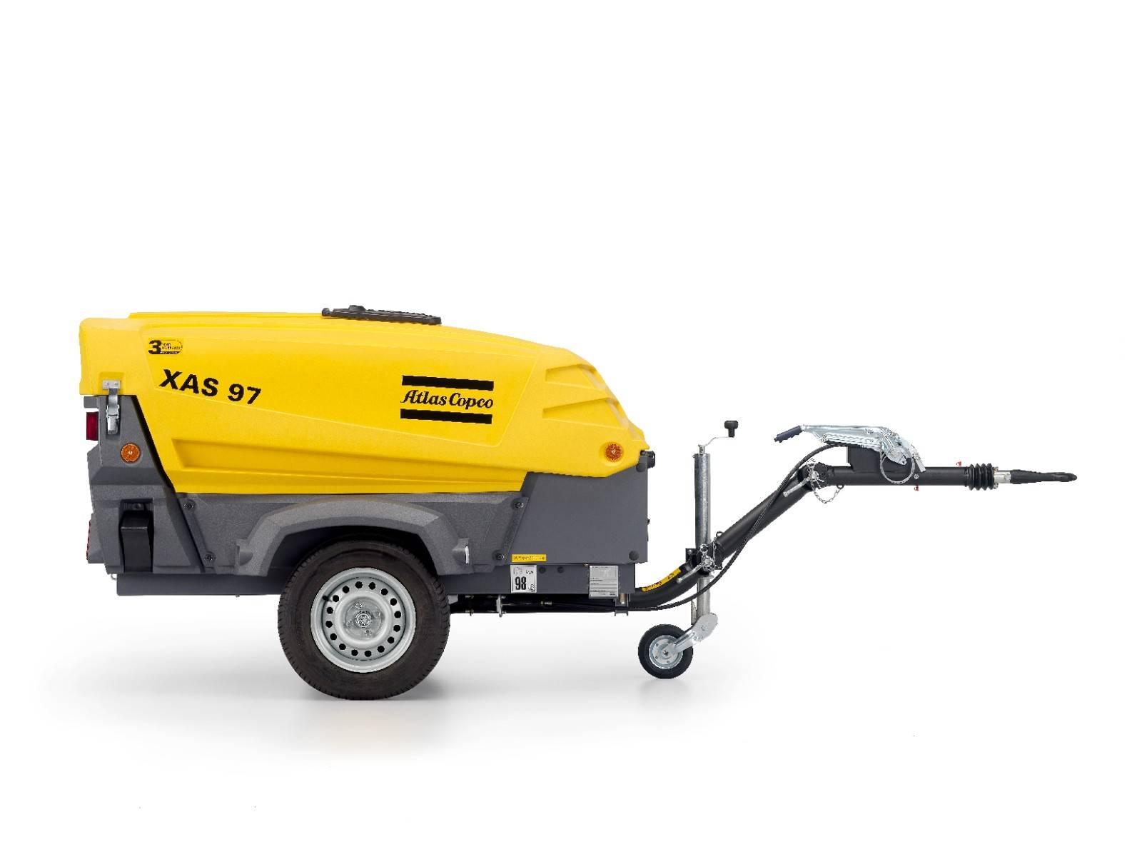 Transportabel kompressor XAS 97