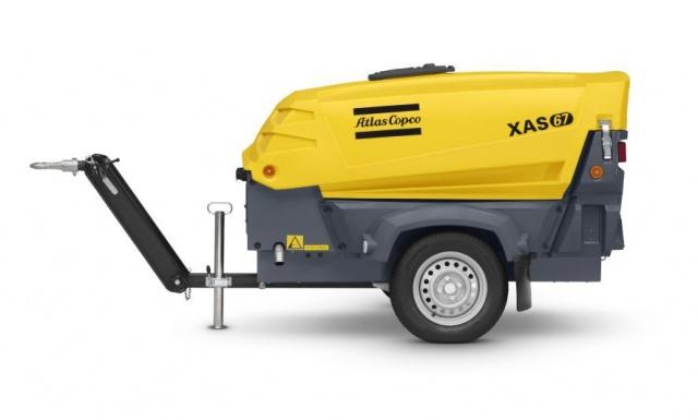 Transportabel kompressor XAS67DD-1