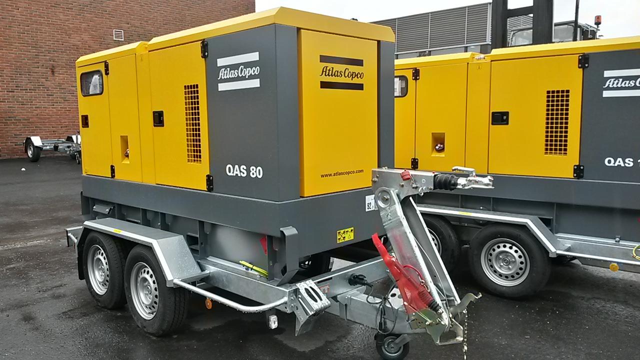 Vekselstrømgenerator QAS 80-100 UND 01
