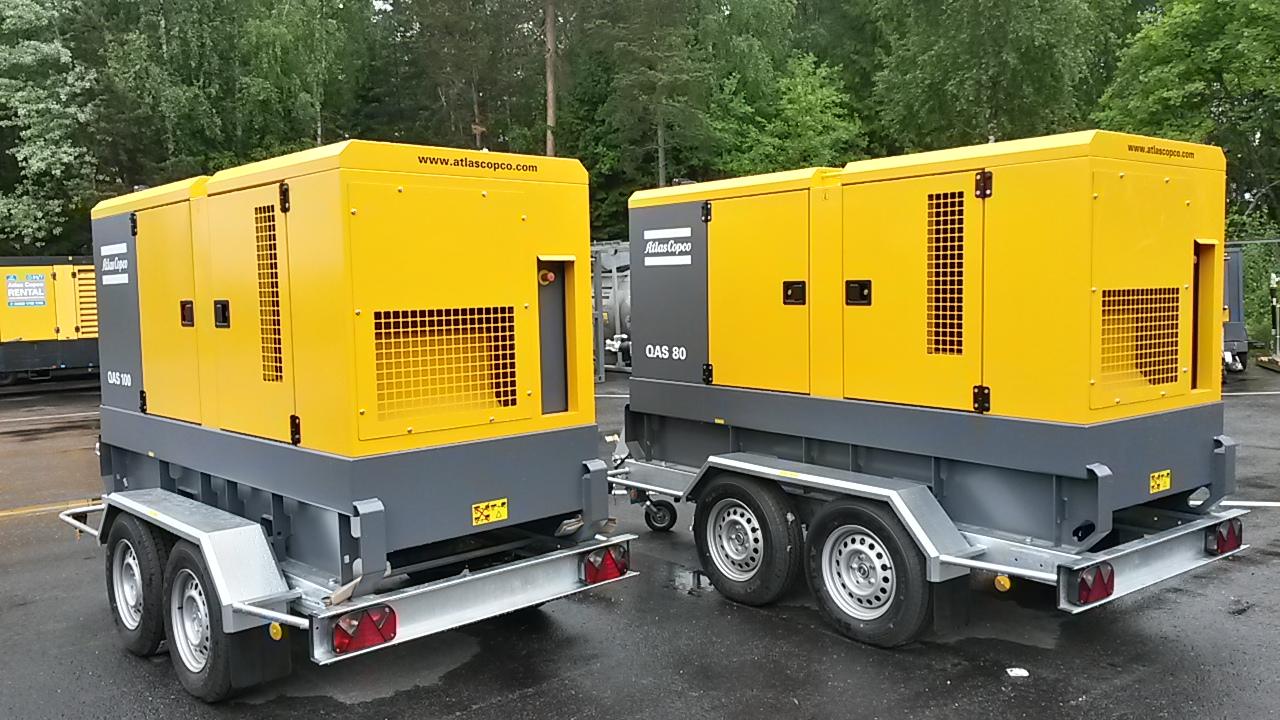 Vekselstrømgenerator QAS 80-100 UND 02