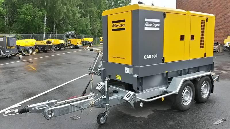Vekselstrømgenerator QAS 80-100 UND 03