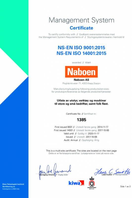 e149e8ea Naboen er: ISO 9001 – sertifisert ...
