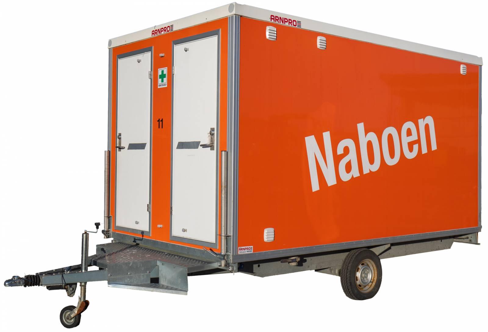 Naboen - letthus med toalett