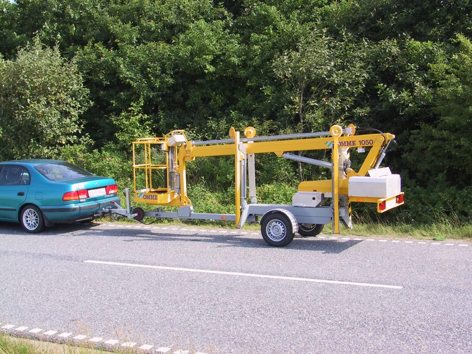 10m Tilhengerlift 230V - Omme 1050 EZ