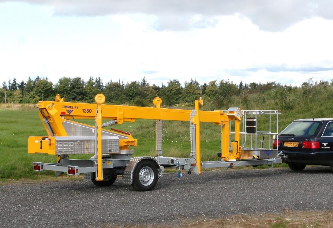 5m Tilhengerlift Batteri - Omme 1250 EBZ
