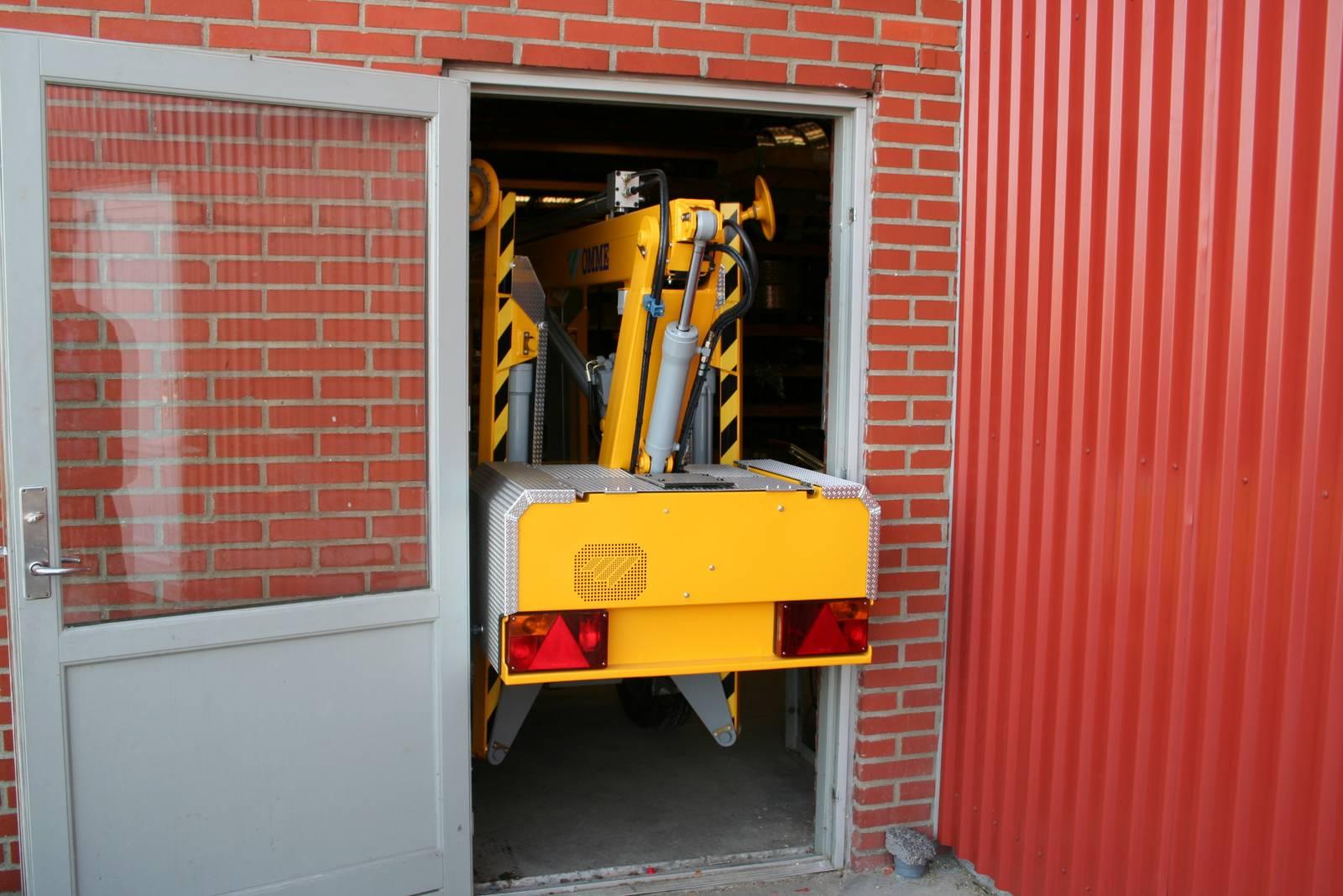 12m Tilhengerlift Batteri - Omme MINI-12 EZ