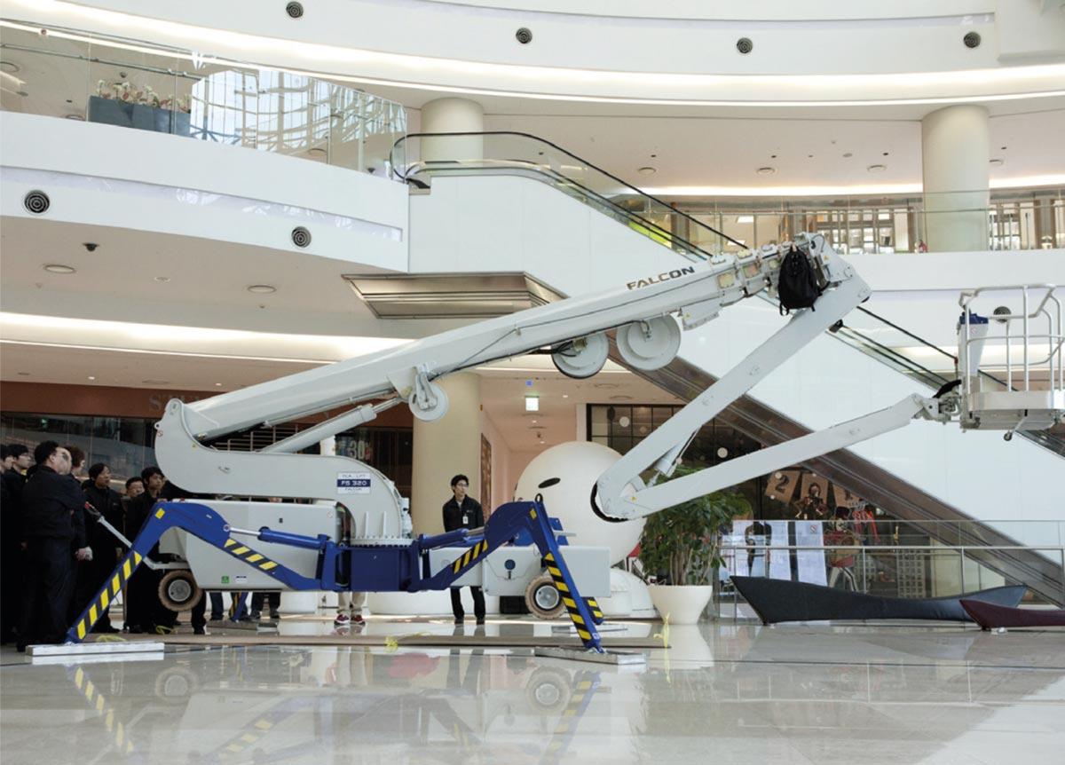 32m Spiderlift - Falcon FS 320
