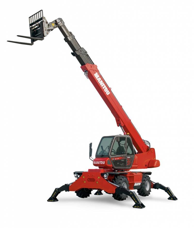 Naboen - 21m Teleskoptruck - 360 rotasjon - Manitou MRT 2145 Easy