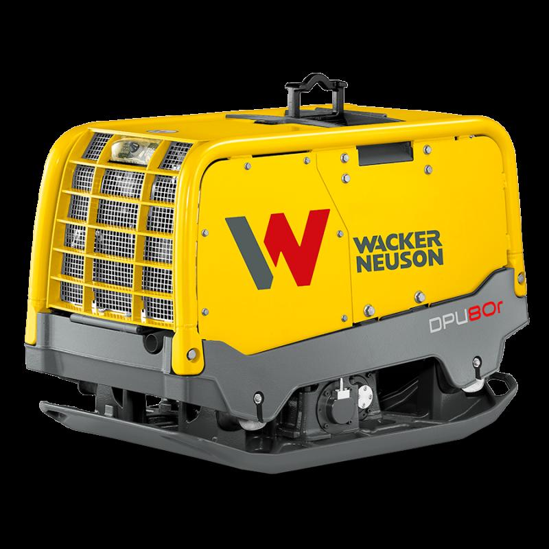 Vibratorplate fjernstyrt 800-1000Kg - Wacker Neuson DPU 80rLem670 - Naboen